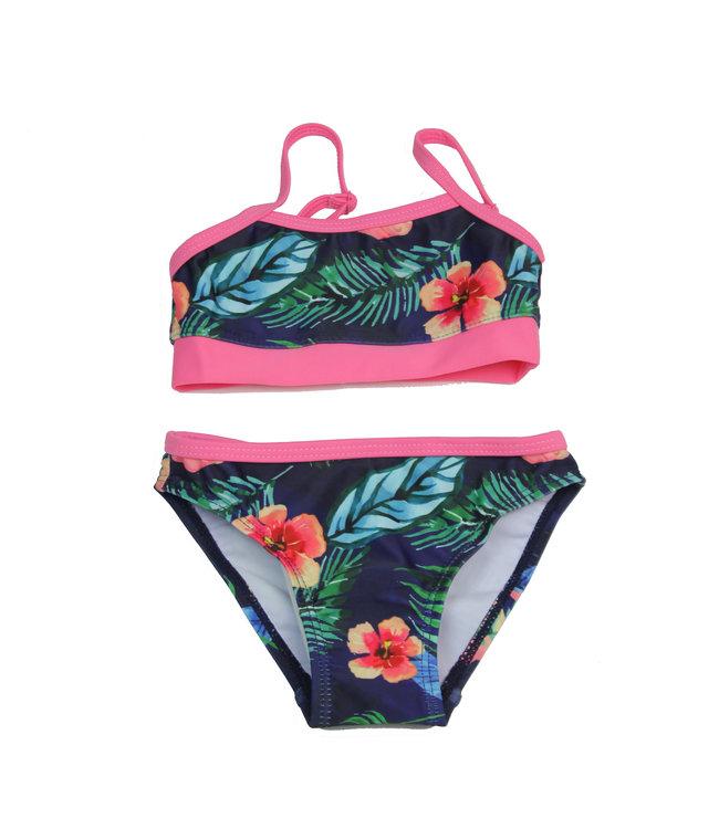 Lentiggini Girls Bikini (E-Navy blue)