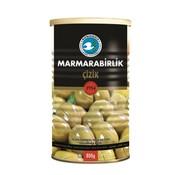 Marmarabirlik Marmara Birlik Gestreepte Groene Olijven L 800gr