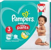 Pampers Pampers Baby Dry Luierbroekjes Maat 3 - 104 stuks