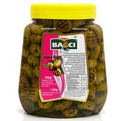 Bagci Bagci gegrilde groene olijven 700gr
