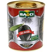 Bagci Bagci zwarte olijven met weinig zout 1kg