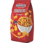 Quackers Heerlijke Quackers crackers vis vormen