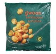G'WOON G'WOON aardappelschijfjes 600gr