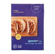 G'WOON G'WOON maaltijdpakket mexicaanse wraps