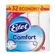Edet Edet Comfort - 3 laags toiletpapier - 32 rollen