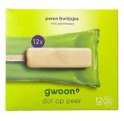 G'WOON G'WOON Fruitijs peer 12stuks