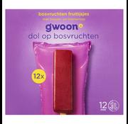 G'WOON G'WOON Fruitijs bosvrucht 12stuks