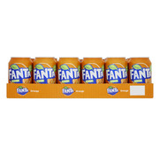 Fanta Fanta orange - tray 24 stuks