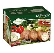 Mekkafood Mekkafood hamburger 12 st +  6 Hamburgerbroodjes