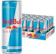 Red bull Red Bull sugar free - tray 24 stuks