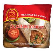 Oz Yufka Durum Tortillas 25cm 6stuks