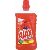Ajax Ajax allesreiniger rode bloemen 1L