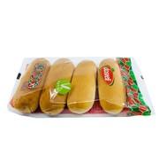 Dosteli Hotdog broodjes 4 stuks
