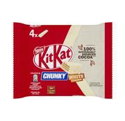 KitKat Kitkat Chunky witte chocolade 4-pack