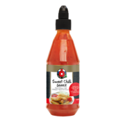 Lucky label Lucky label thai sweet chili sauce 435ml