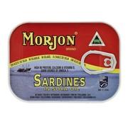 Morjon Sardientjes in soya olie