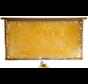 Rauwe honing in houten raampje ca 2.5kilo