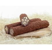 Brownie Turks Fruit met Chocolade Melange en Hazelnoot