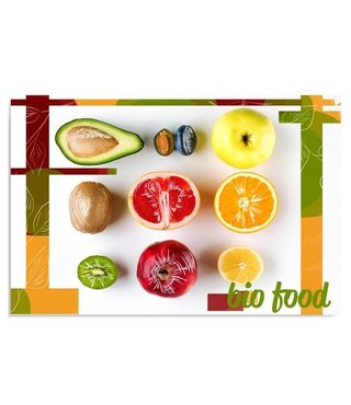 Schilderij Fruit, 4 maten (wanddecoratie)