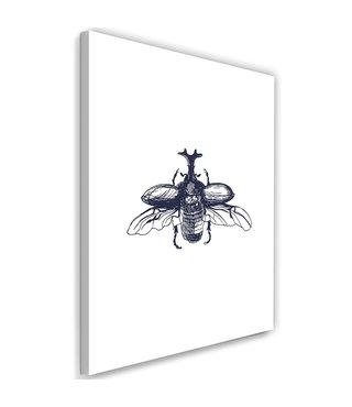 Schilderij Vliegende kever, 2 maten (wanddecoratie)