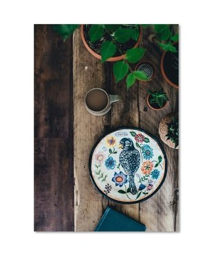 Schilderij Stil leven in de tuin, 4 maten