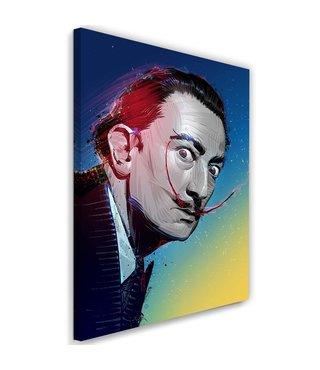 Schilderij Salvador Dali , Schilder , 2 maten , multikleur , Premium print