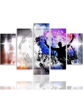 Schilderij Dance Dance Dance, XXL, 4 maten, print op premium canvas
