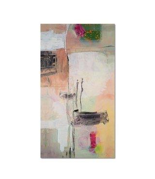 Schilderij - Abstract dier, 3 maten, multi-gekleurd, wanddecoratie
