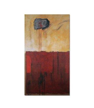 Schilderij - Abstract, 3 maten, multi-gekleurd, wanddecoratie