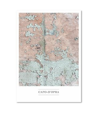 Schilderij - Capo D'opra, 3 maten, multi-gekleurd, wanddecoratie