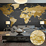 Fotobehang XXL - World Map: Modern Geography II