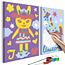 Doe-het-zelf op canvas schilderen - Rabbit & Unicorn