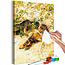 Doe-het-zelf op canvas schilderen - Sleeping Jeppe