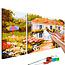 Doe-het-zelf op canvas schilderen - Country House