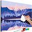Doe-het-zelf op canvas schilderen - Matheson Lake