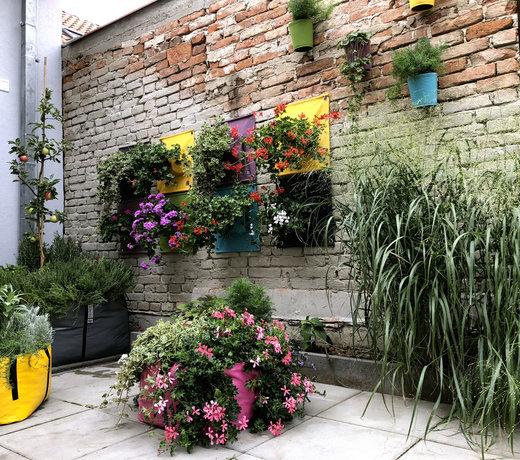 Plantenbakken en bloembakken