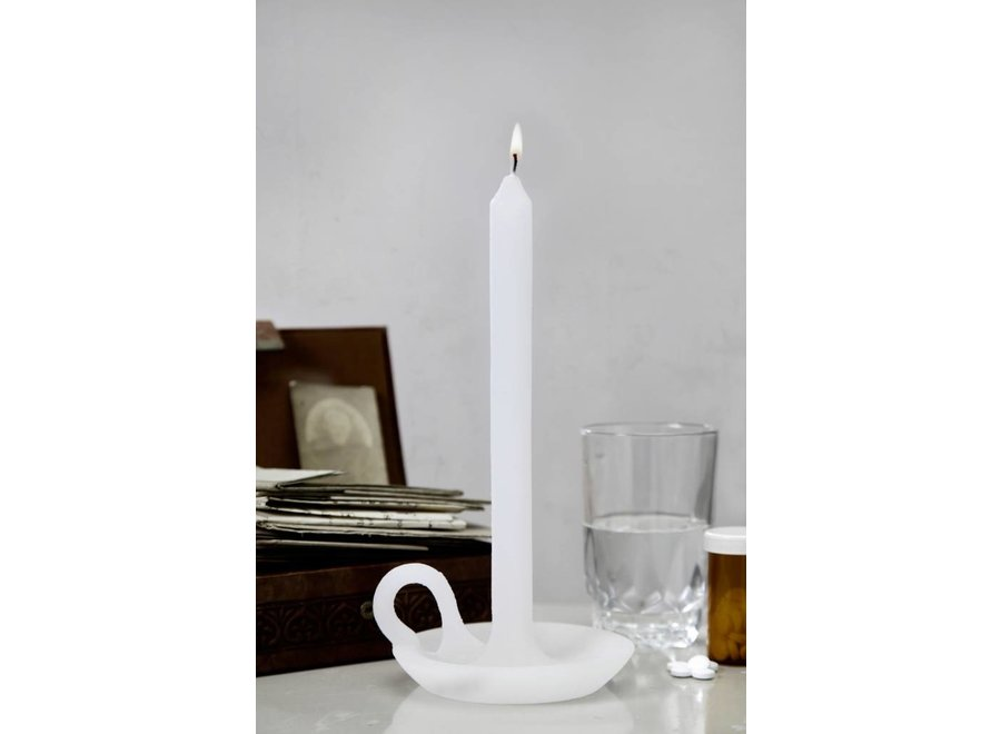 Kaars & Kandelaar Soft White