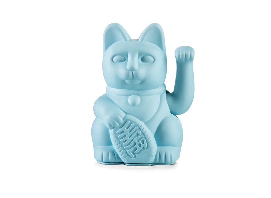 Lucky Cat Licht Blauw