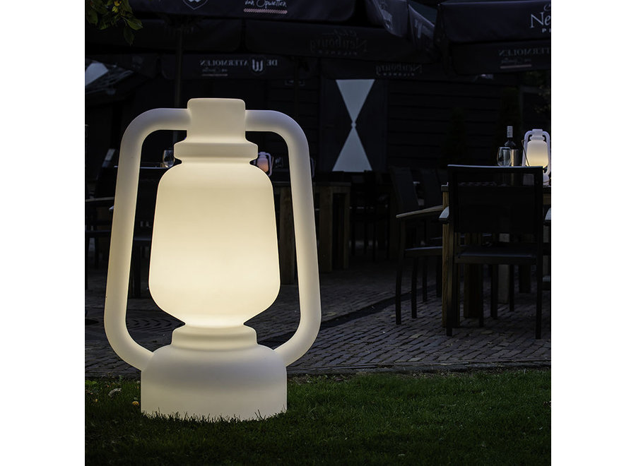 Vloerlamp Wit 110cm Storm Extra Large