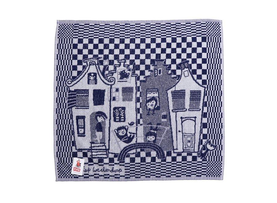 Keuken Handdoek, Grachtenpandjes, Fiep Westendorp