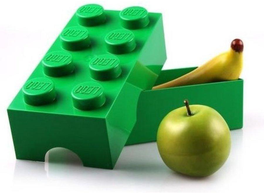 Snackbox Groen Classic Brick 8