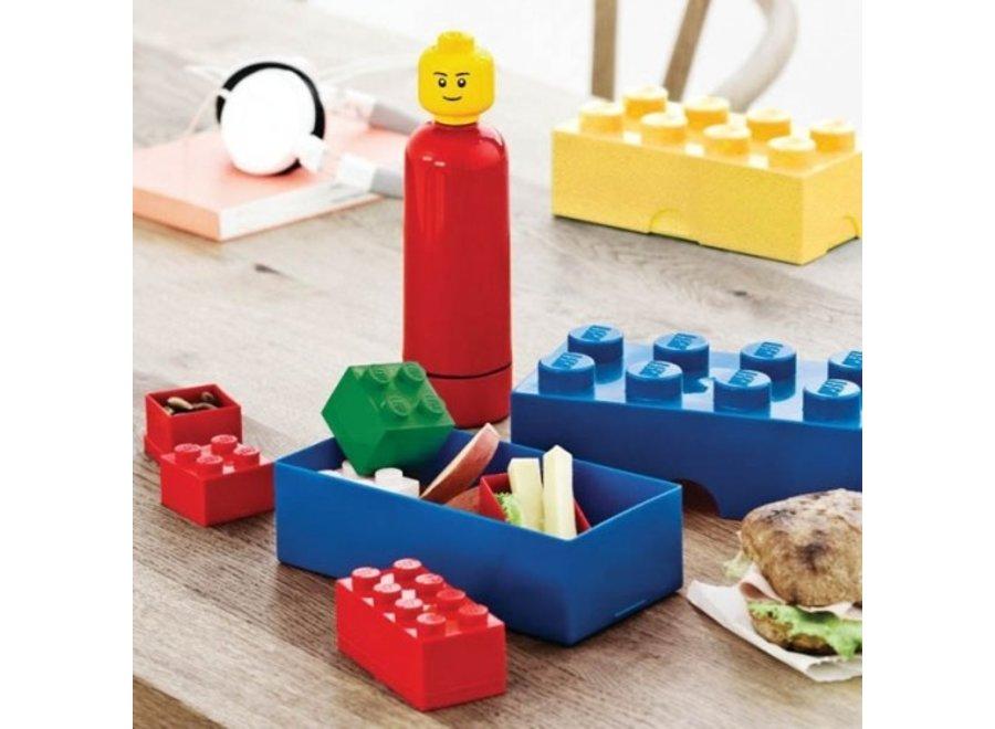 Snackbox Blauw Classic Brick 8