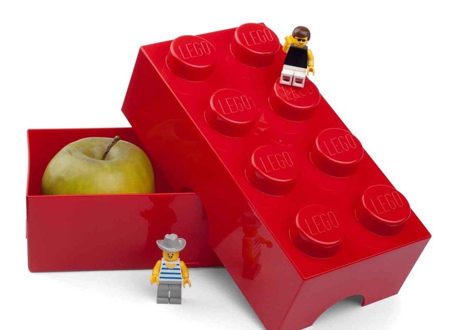 Snackbox Rood Classic Brick 8