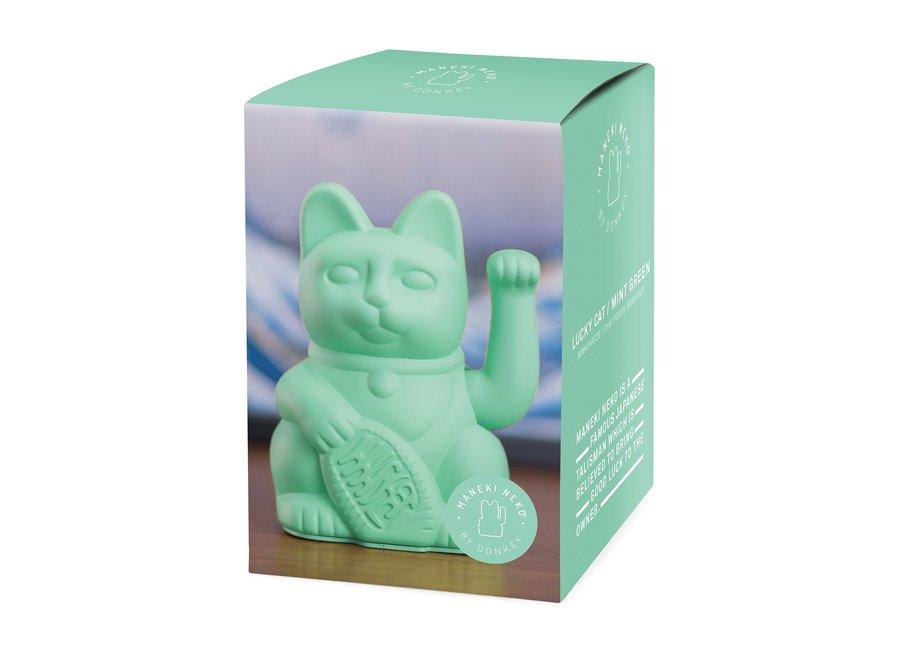 Lucky Cat Geluksbrenger - Mint Groen