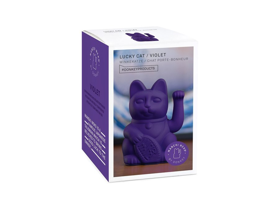 Lucky Cat Violet