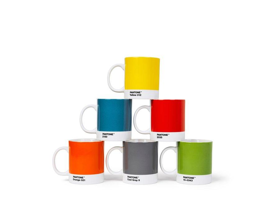 Koffiebeker Oranje 375ml