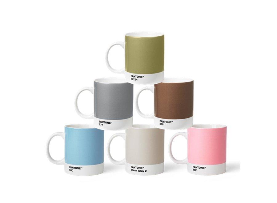 Koffiebeker Zilver 375ml