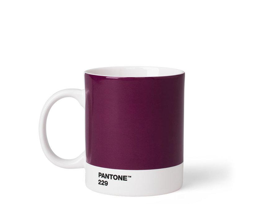 Koffiebeker Paars 375ml