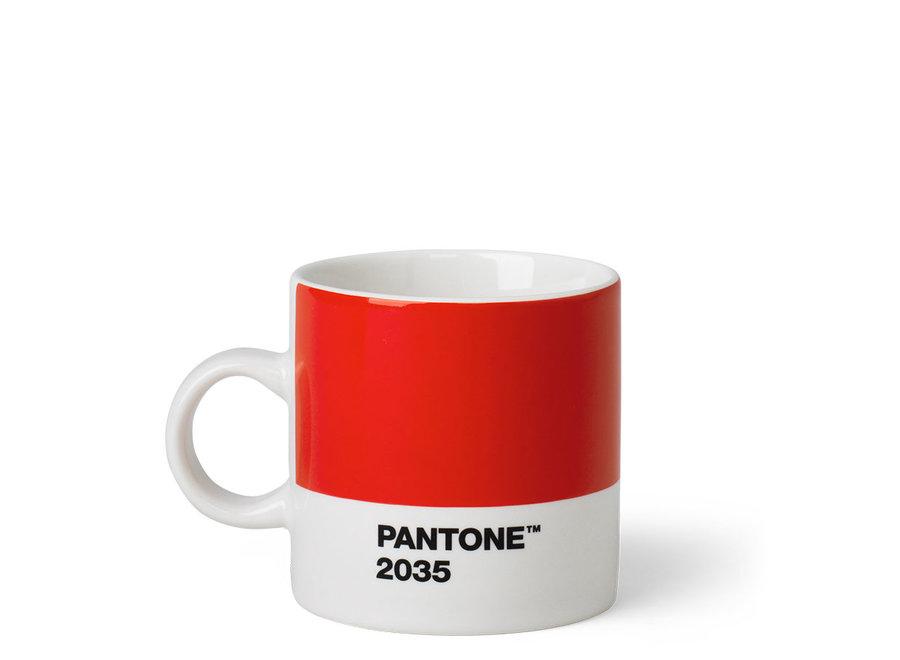 Espressokopje Rood 120ml