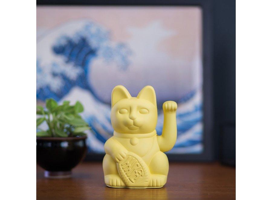 Lucky Cat Geluksbrenger - Geel